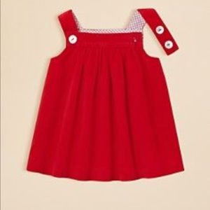 JACADI BABY GIRLS Pleated Corduroy Dress 3 Months